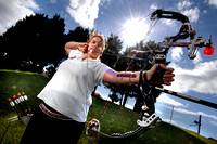 Tracey Anderson British Archery Champion
